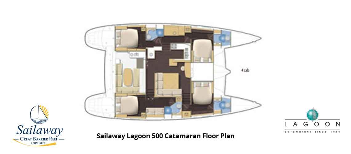 Sailaway's floor plan