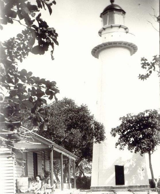 Low Isles Lighthouse circa 1900