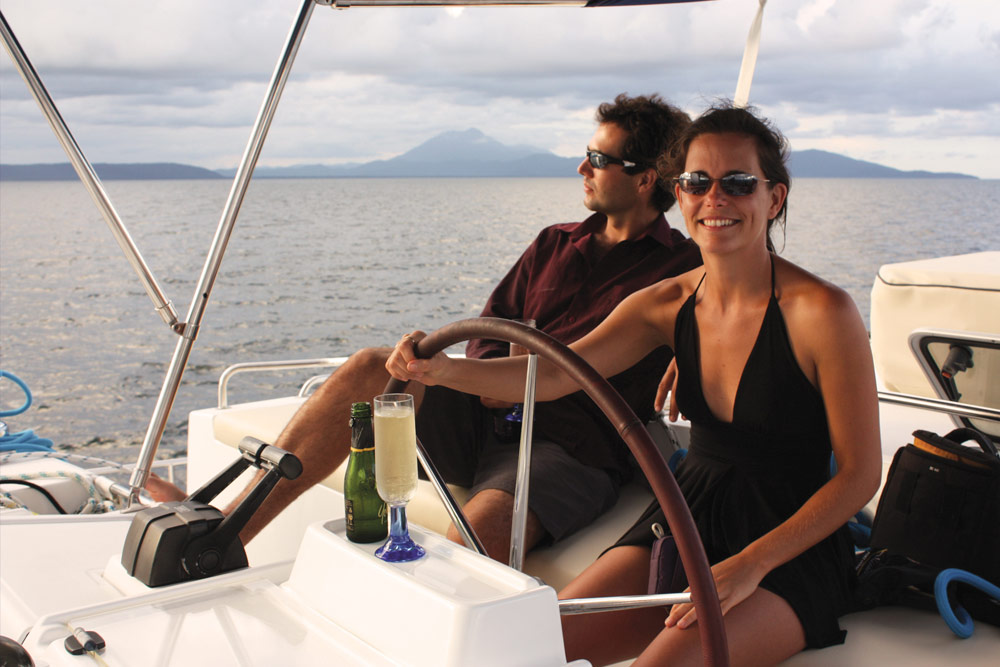 Sailing Great Barrier Reef